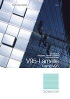 Prospekt: V95-Lamelle